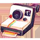 昔のポラカメ使います ポラロイド・ランドカメラ1000 (Onestep) 活用大作戦2・フィルターをつける