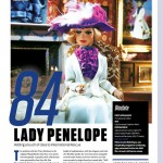 雑誌「Sci-Fi Characters」でサンダーバードのペネロープがランクイン!
