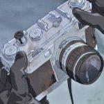ACCA13区監察課 ニーノの父親のカメラはニコンSP!!
