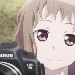 アニメ Just Because! 小宮恵那のカメラはキヤノンPowerShot G5 XとEOS 7D Mark II !!