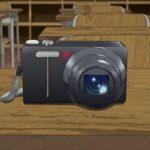 サクラクエスト 第20話に登場したカメラはリコーのCX4!!