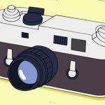 ちびまる子ちゃん たまちゃんのお父さんのカメラはライカM4!!