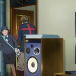 アニメ『歌舞伎町シャーロック』シャーロックの部屋にあるスピーカーはJBL 4312シリーズ!!