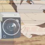 """『映像研には手を出すな!』水崎ツバメのカメラはフジフイルム""""チェキ"""" instax mini 90 ネオクラシック!!"""
