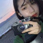 ハロプロ・アンジュルム、笠原桃奈さんのカメラはライカM6!!