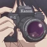 アニメ『イエスタデイをうたって』主人公・リクオのカメラはキヤノン(Canon) F-1!!