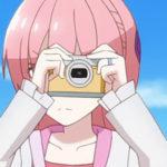 アニメ『トニカクカワイイ』由崎司のカメラはキヤノンEOS M-200+フェイスジャケット EH31-FJ イエロー!!