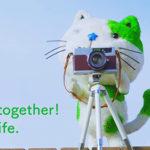 ポラスCMのキャラクター「ポラ猫」が使っているカメラはペトリ7 (Petri 7)!!